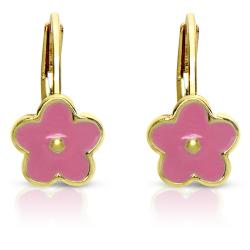 Lily Nily Girl's Flower Leverback Earrings