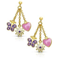Lily Nily Girl's Charms Dangle Earrings