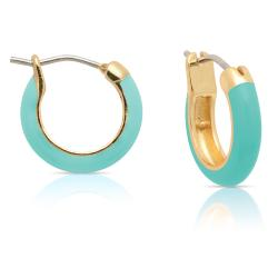 Lily Nily Girl's Turquoise Hoop Earrings