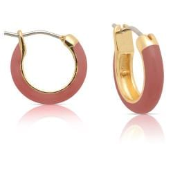 Lily Nily Girl's Coral Hoop Earrings