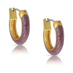 Lily Nily Girl's Marbelized Hoop Earrings