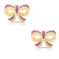 Lily Nily Girl's Bow Stud Earrings