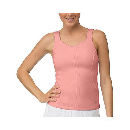 44341c2430c23 Shop Women s Fila Lawn Cami Tank Top Furo Coral - Free Shipping Today -  Overstock - 11427073