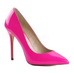 Women's Pleaser Amuse 20 Neon Fuchsia Patent
