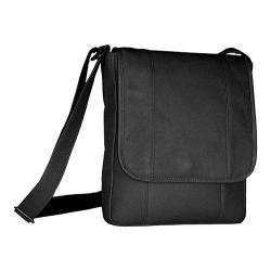 David King Leather 467 Vertical Bag Black