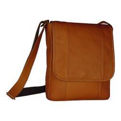 David King Leather 467 Vertical Bag Tan