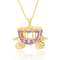 Lily Nily Girl's Princess Carriage Pendant