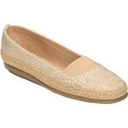 Women's Aerosoles Counsoler Flat Natural Canvas