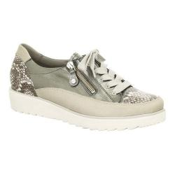 Women's ara Mandy 31544 Sneaker Beige/Snake/Gun Multi