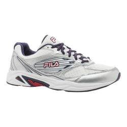 Men's Fila Inspell 3 Running Shoe White/Fila Navy/Fila Red