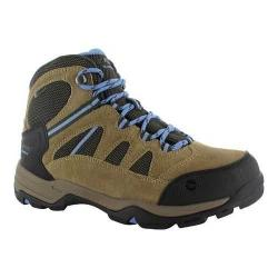 Women's Hi-Tec Bandera II Mid Waterproof Boot Honey/Taupe/Cornflower Suede/Synthetic