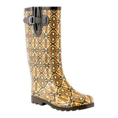 Women's Nomad Puddles Boot Heart Trellis