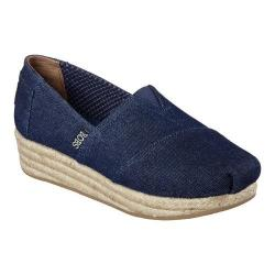 Women's Skechers BOBS Highlights Moments Alpargata Denim