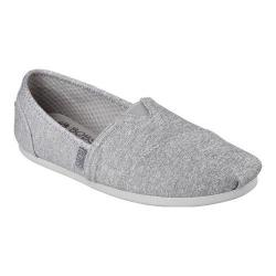 Women's Skechers BOBS Plush Express Yourself Alpargata Gray