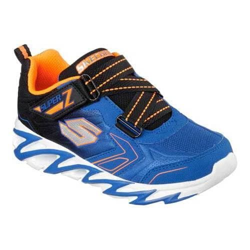 0dc6ff136672 Shop Boys  Skechers Fast Volt Sneaker Royal Black - Free Shipping On Orders  Over  45 - Overstock.com - 11448506