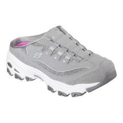 Women's Skechers D'lites Resilient Sneaker Clog Gray/White