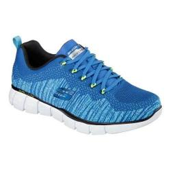 Men's Skechers Equalizer 2.0 Perfect Game Training Shoe Blue/Lime