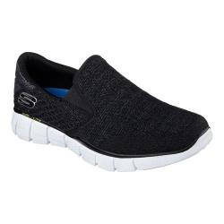 Men's Skechers Equalizer 2.0 Slip On Black/White