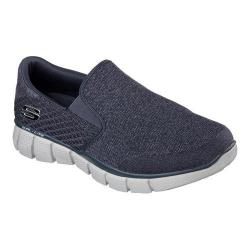 Men's Skechers Equalizer 2.0 Slip On Navy/Gray
