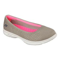 Women's Skechers GO STEP Primary Ballet Flat Taupe