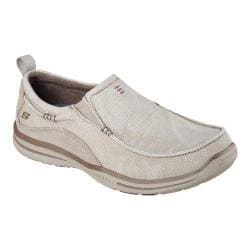 Men's Skechers Relaxed Fit Elected Drigo Loafer Stone