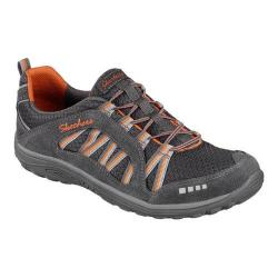 Women's Skechers Relaxed Fit Reggae Fest Epic Adventure Bungee Lace Charcoal