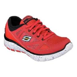 Boys' Skechers Relaxed Fit Skech-Flex Reactors Sneaker Red/Black