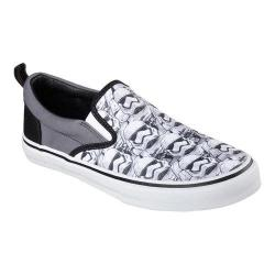 Men's Skechers Star Wars The Menace Imperial Guard Slip On White/Black
