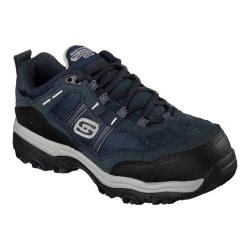 Women's Skechers Work Relaxed Fit D'Lites Tolland Composite Toe Navy/Gray