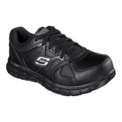 Women's Skechers Work Synergy Sandlot ST Black