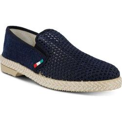 Men's Spring Step Lawrence Slip-On Navy Canvas