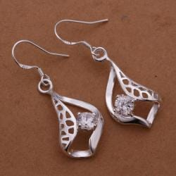 Vienna Jewelry Sterling Silver Laser Cut Sail Boat Earring - Thumbnail 0