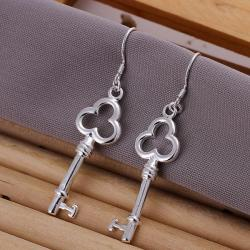 Vienna Jewelry Sterling Silver Keychain Pendant Earring - Thumbnail 0