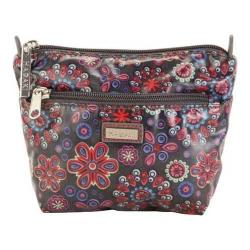 Women's Hadaki by Kalencom Double Zip Cosmetic Bag Fantasia