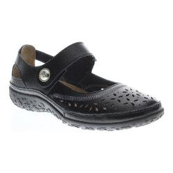 Women's Spring Step Naturate Mary Jane Black Leather