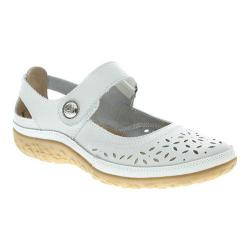Women's Spring Step Naturate Mary Jane White Leather