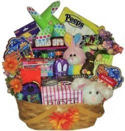 Double Bunny Easter Family Fun Basket