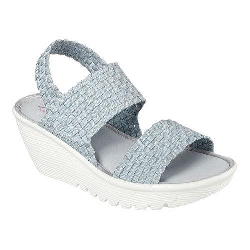 ef199630 Shop Women's Skechers Parallel Midsummers Weave Wedge Sandal Gray - Free  Shipping Today - Overstock - 11461407