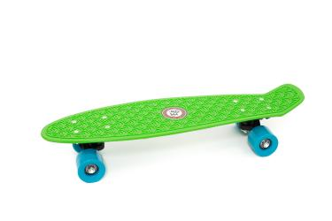 "Skateboard Penny Retro 22"" Standard Board Mini Street Cruiser Complete, Green"