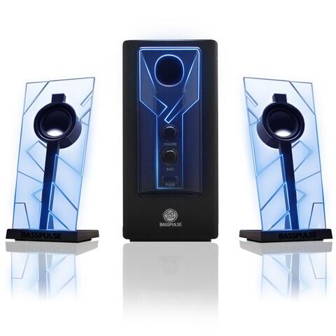 GOgroove BassPULSE 2.1 Speaker System - 20 W RMS