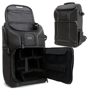 Professional Gear Backpack w/ Customizable Dividers for Cameras , Laptops & Accessories by USA Gear