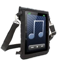 USA GEAR Kid Proof Neoprene Tablet Case w/ Touch Capacitive Screen Protector & Headrest Mount Strap