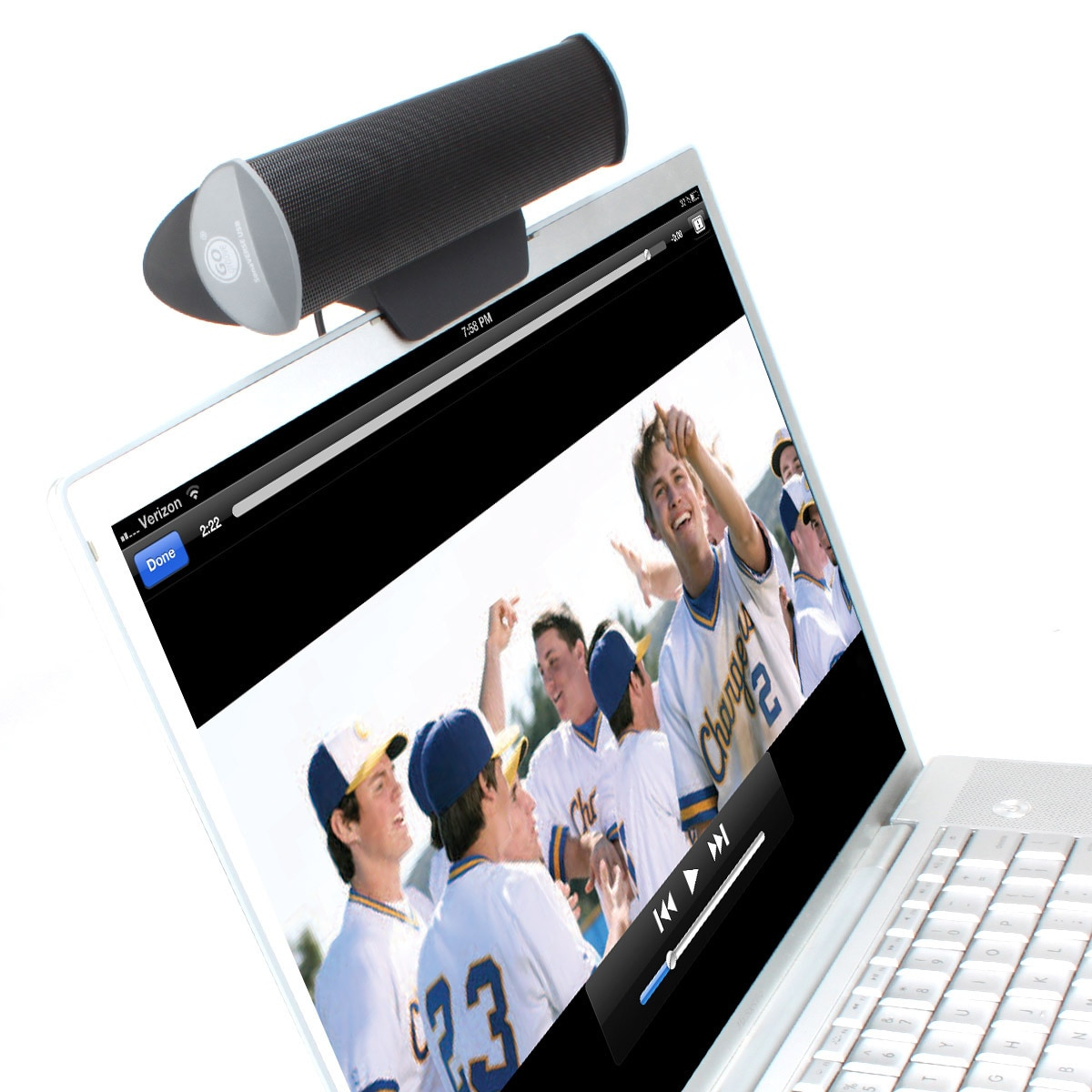 GOgroove USB Multimedia Speaker Bar with 2 High-Excursion...