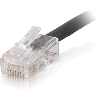 C2G 1ft Cat5e Non-Booted Unshielded (UTP) Network Patch Cable (Plenum