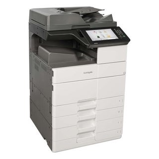 Lexmark MX911DTE Laser Multifunction Printer - Monochrome - Plain Pap