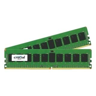 Crucial 16GB Kit (8GBx2) DDR4 PC4-17000 Registered ECC 1.2V