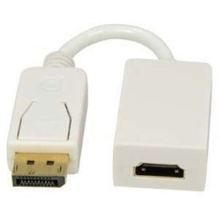 Unirise Displayport Male to HDMI Female Adapter