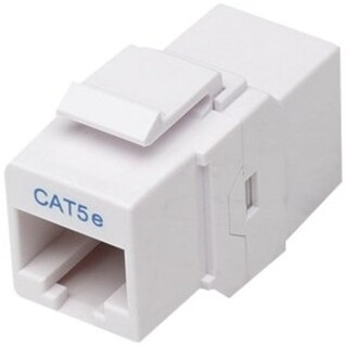 Intellinet Cat5e Inline Coupler, Keystone Type