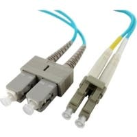 Axiom LC/SC Multimode Duplex OM4 50/125 Fiber Optic Cable 2m