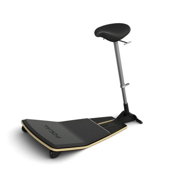 Locus Seat by Focal Upright, Black Matte Laminate Base